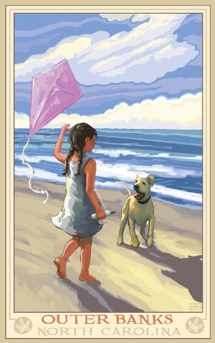 northwest-art-mall-outer-banks-girl-flying-kite-north-carolina-wall-art-by-joanne-kollman-11-by-17-i