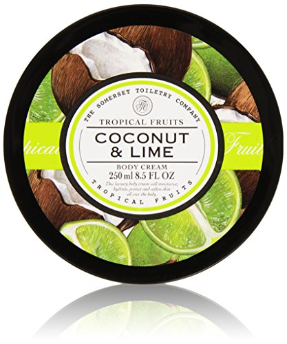 Tropical Fruits Coconut and Lime Body Cream 250 ml