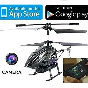 iHelicopter con telecamera - iCam Lightspeed elicottero controllato con Android / iPad / iPhone con telecamera per foto e video