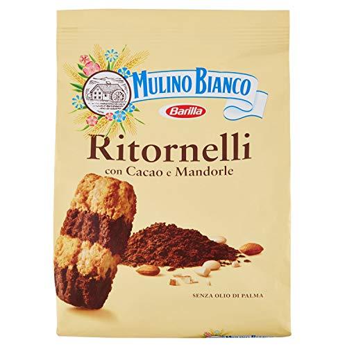 Mulino bianco biscotti ritornelli con cacao e mandorle per una colazione gustosa - 700 g