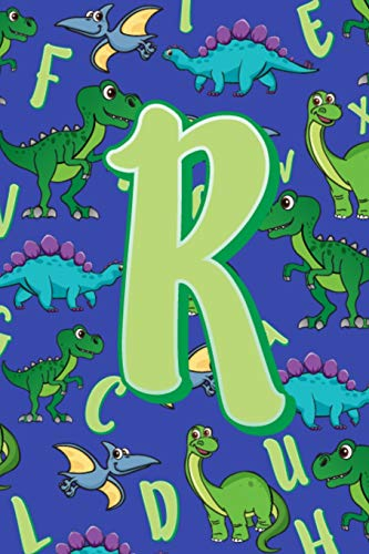 R: Dinosaur Alphabet Practice Writing Book for Kids -