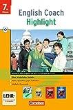 English Coach Highlight - Zu New Highlight und English H/Highlight (alle Ausgaben) - Version für zu Hause: Band 3: 7. Schuljahr - CD-ROM