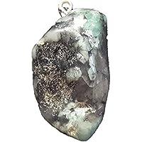 KRIO® - Smaragd Anhänger mit Silberöse preisvergleich bei billige-tabletten.eu