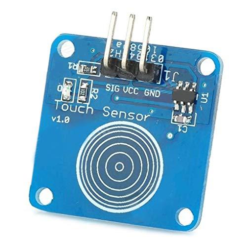 Kongnijiwa Module CATALEX Digitaler Capacitive Touch-Sensor-Schalter-Modul für Arduino