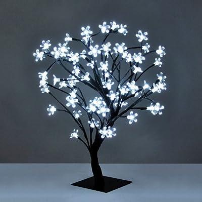 Decorative Bonsai Style Tree Light with 72 LED's - 45cm