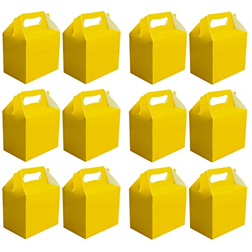 value-pack-12-x-choose-your-colour-paper-lunch-going-home-present-picnic-boxes-yellow