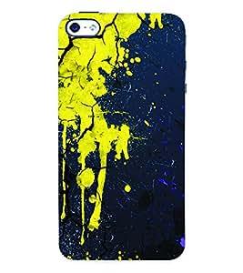 Fuson 3D Printed Pattern Designer Back Case Cover for Apple iPhone 4S - D1063