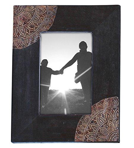 foto telaio - 10.1 x 15.2 - nero, marrone - di legno - per orizzontale e verticale immagini -casa