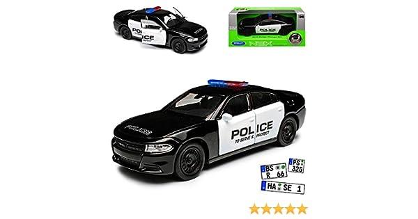 Dodge Charger R//T Limousine Police Polizei Schwarz Ab 2016 ca 1//43 1//36-1//46 Wel