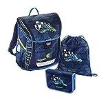 baggymax Schulranzen-Set Fabby 3-tlg Soccer Goal bm soccer goal