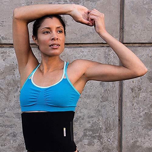 BRACOO Fitnessgürtel – Damen & Herren – Hot Belt – Schwitzgürtel – Waist Trimmer | Schnell & Einfach Abnehmen mit dem Bauchweggürtel - 5