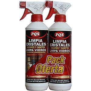 PQS 1300428 – LIMPIACRISTALES CHIMENEAS, PACK 2 X 500 ML