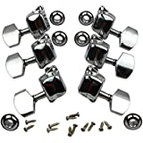 MyArmor 6 Pieces 3L3R guitare cordes Chrome Tuning Pegs Tuners Mécaniques