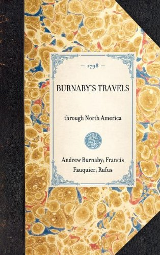 Burnaby's Travels (Travel in America)