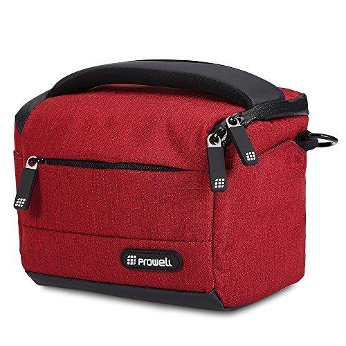 Olympus Gadget Bag (Kameratasche, stoßfest DSLR Digital Kamera Tasche für 1Kamera 2Objektive und kleines Zubehör für Canon Nikon Sony Fujifilm Olympus Panasonic)
