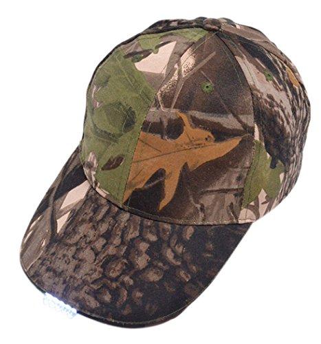 aseball-Cap für die Fischerei Jagd Nacht laufen Camping(Camouflage) ()