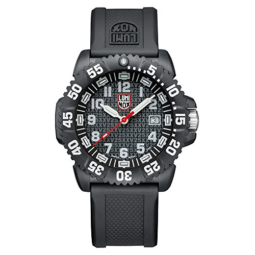 Luminox Herren-Armbanduhr 25TH ANNIVERSARY Analog Quarz Kautschuk 3051.25TH (Seal Uhr Navy)