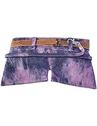 WEDO Trousse scolaire Motif mini shorts jeans HotPants Violet