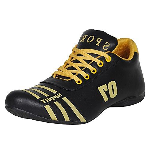 Kraasa 7018 Sports Shoes BlueYellow 10