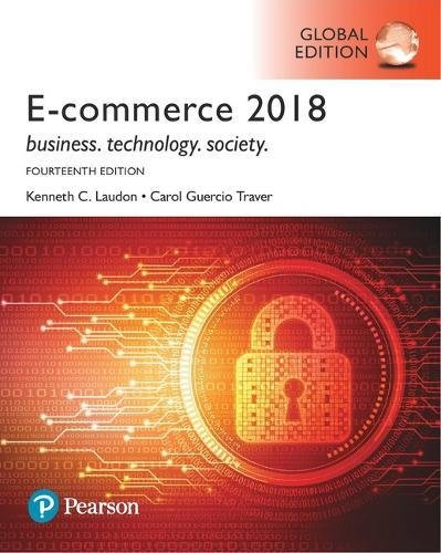 E-Commerce 2017, Global Edition por Kenneth C. Laudon
