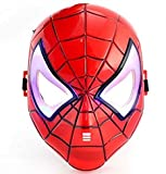 V2 Collection's Spiderman Mask With Colourful Led Lights