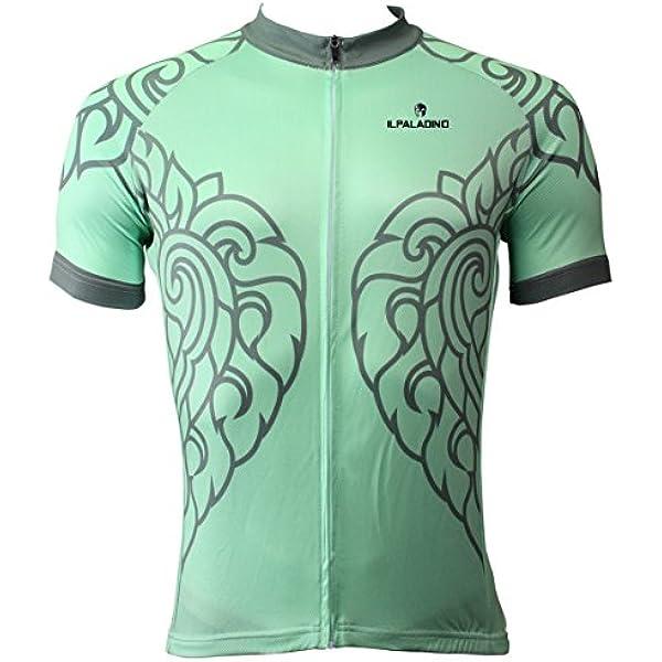 Jerseys de ciclismo de los hombres Ropa de manga corta de bicicletas de carretera Ropa de verano de bicicletas de montar Camisas deportivas al aire libre Reflexivo Men's Cycling Jerseys X-Small