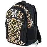 Schul Rucksack Ranzen Kinder Teenager S94DX 21830 Leopard