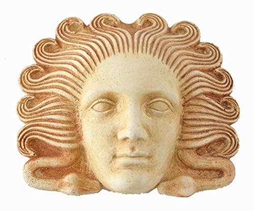 Medusa Miniatur-Maske-Antike Griechische Theater-Gorgone Medousa