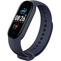 BATHRINS Fitness Tracker Orologio Sport M5 Intelligente Bluetooth Braccialetto Impermeabile IP67,Dormire,Meteorologico…