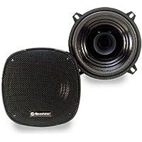 Roadstar PS 1315 - Pareja de altavoces para coche (50 W, 90 dB), negro