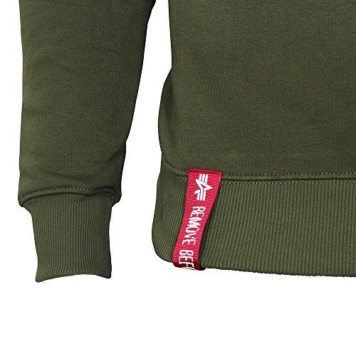 Alpha Industries Herren Sweatshirt Grün