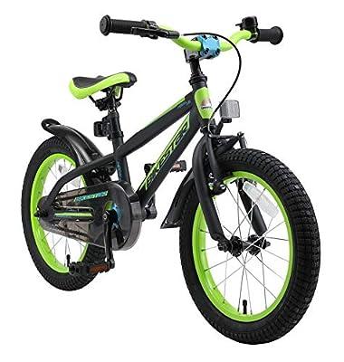 BIKESTAR Kinderfahrrad 16 Zoll für Mädchen und Jungen ab 4-5 Jahre | 16er Kinderrad Mountainbike | Fahrrad für Kinder