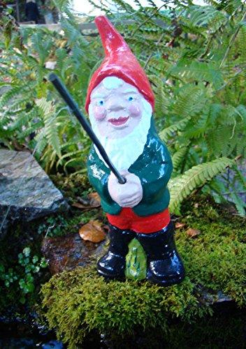 Angeln Gnome ~ Alfie ~ klein stehend Fisherman