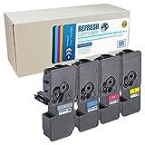 Refresh Cartridges–Cartucho Tóner Remanufacturado de repuesto para KYOCERA 1t02r70nl0(Multicolor)
