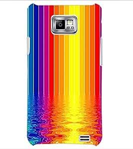 PrintDhaba Colour Design D-2296 Back Case Cover for SAMSUNG GALAXY S2 (Multi-Coloured)