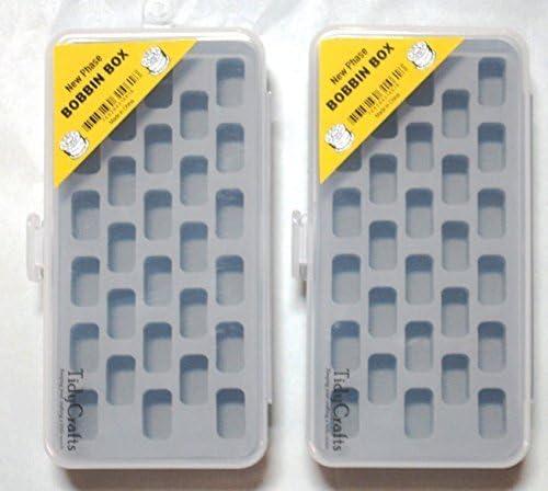 Set of 2 Bobbin Box Organizers by by by New Phase Inc | Primo nella sua classe  | Bella E Affascinante  | Re della quantità  ef6fc5