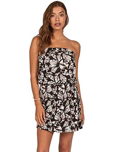 G.S.M. Europe - Billabong Damen New Amed Kleid, Black Pebble, XS Preisvergleich
