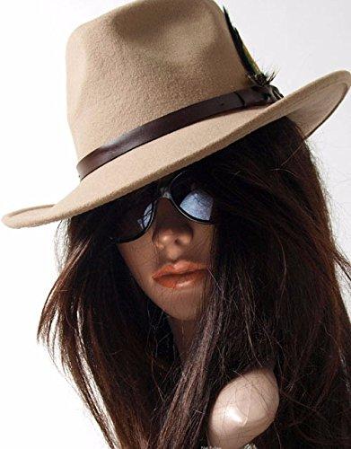 hoom-american-vintage-100-reine-wolle-cowboyhut-und-leder-einfugen-federhut-m