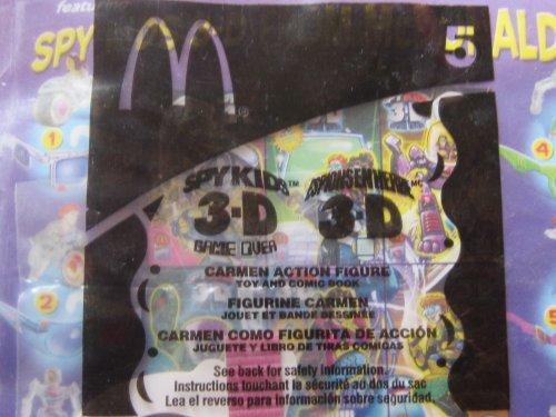 McDonalds 2003 Spy Kids 3-D Game Over #5 Carmen Action Figure by McDonald's - Kids Spy 3d
