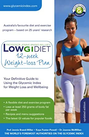 low gi diet plan for weight loss pdf