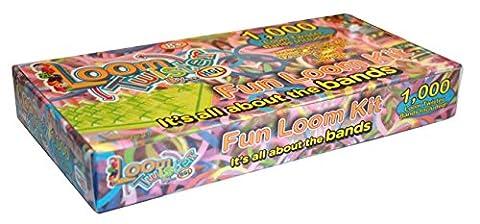Loom Twisters 1000 Bands Kit