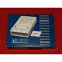 Dictaphone Grundig DT 2300Appareil de lecture avec bloc d'alimentation + et laser