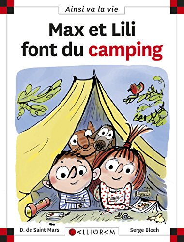 Max et Lili font du camping - tome 102