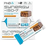 Phd Nutrition Synergy Iso-7 12x70g Bars Chocolate Orange