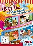 Im Galopp ins Abenteuer: Der Liebesbrief/ Alex und Das Internat/ Tina in Gefahr/ Das Gespensterpferd [2 DVDs]