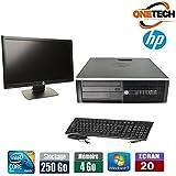 """Pc de Bureau HP 6000 Pro Avec Ecran Hp 20 """""""