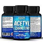 Acetil L-Carnitina 500mg | Tabletas fuertes de acetil-carnitina | 90 potentes cápsulas de refuerzo energético | Dosis para 3 meses COMPLETOS | Mejora tu rendimiento deportivo | Desarrolla la función