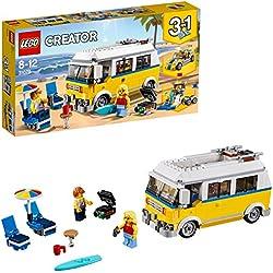 Lego Creator Surfer Van Giallo,, 31079