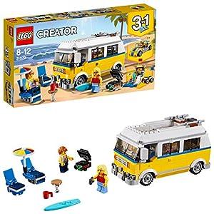 LEGO- Creator Surfer Van Giallo, Multicolore, 31079  LEGO