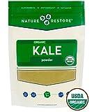Best Kale Powders - Nature Restore Organic Dried Kale Powder, Non-GMO Review